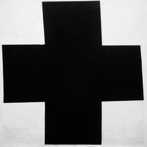 Malewitsch_Das schwarze Kreuz